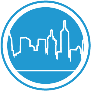 NYC Button Circle