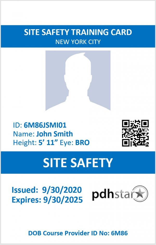 SITE SAFETY SST CARD